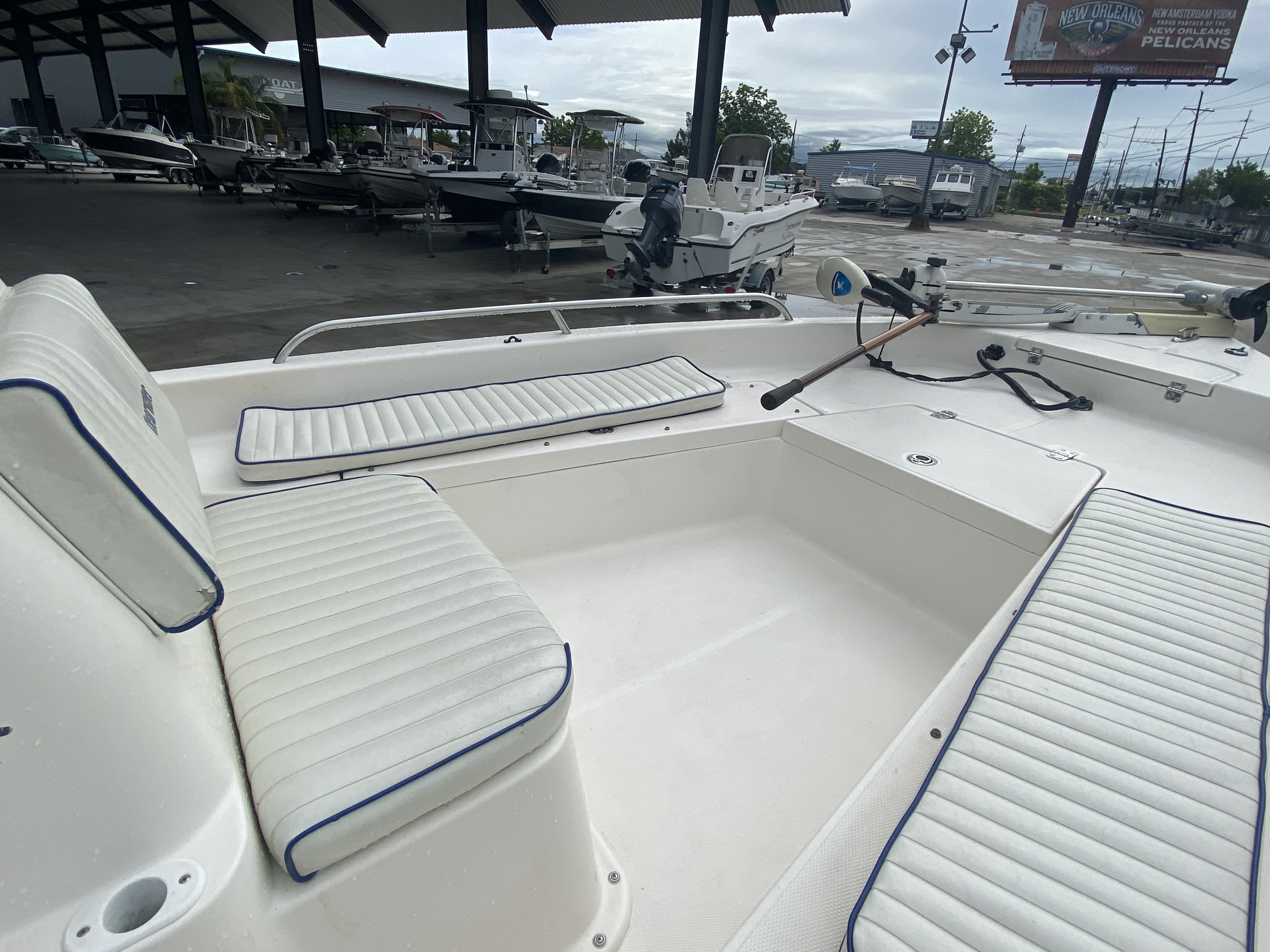2007 Clearwater boat for sale, model of the boat is 1900 & Image # 5 of 13