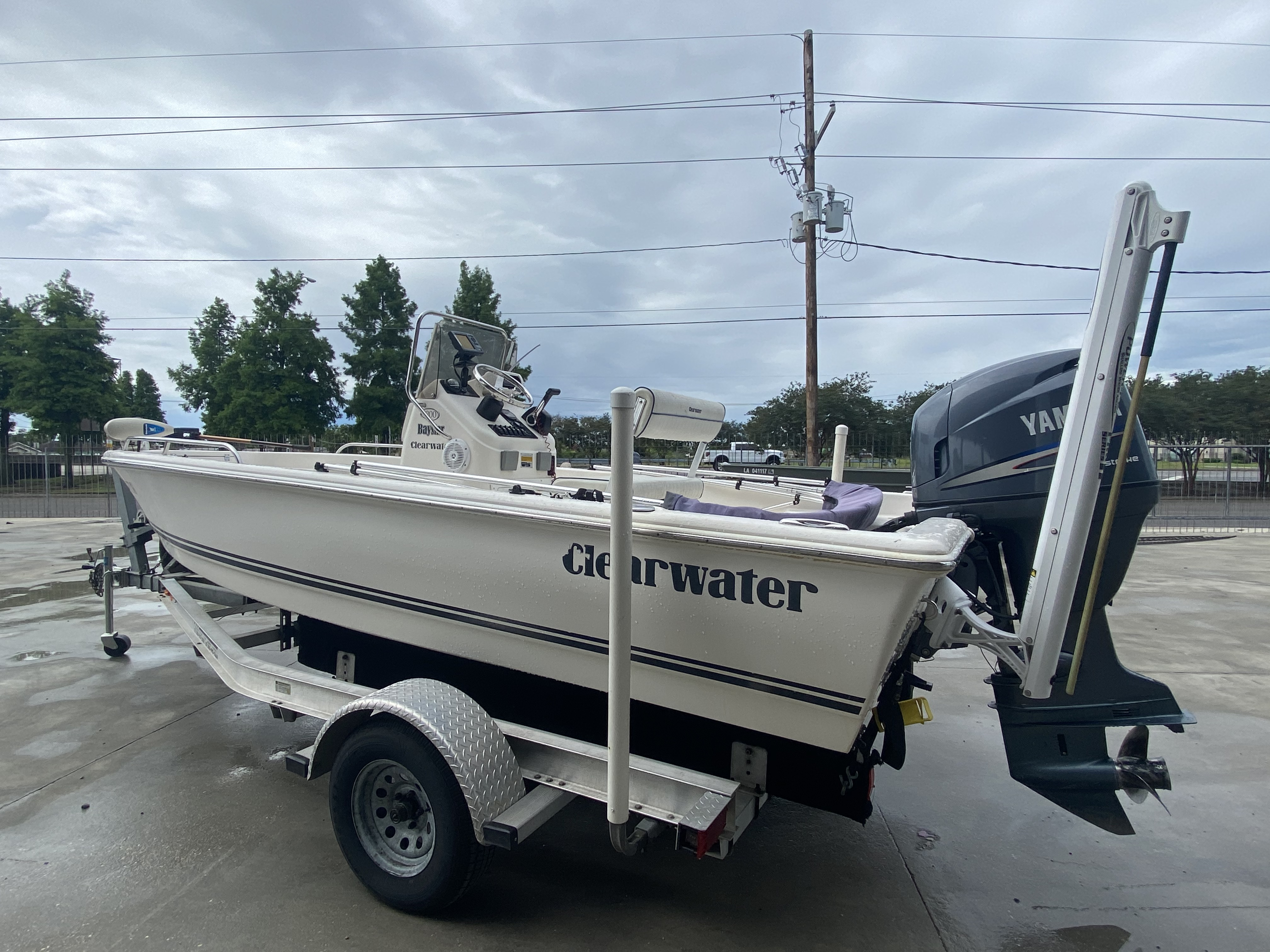 2007 Clearwater boat for sale, model of the boat is 1900 & Image # 7 of 13