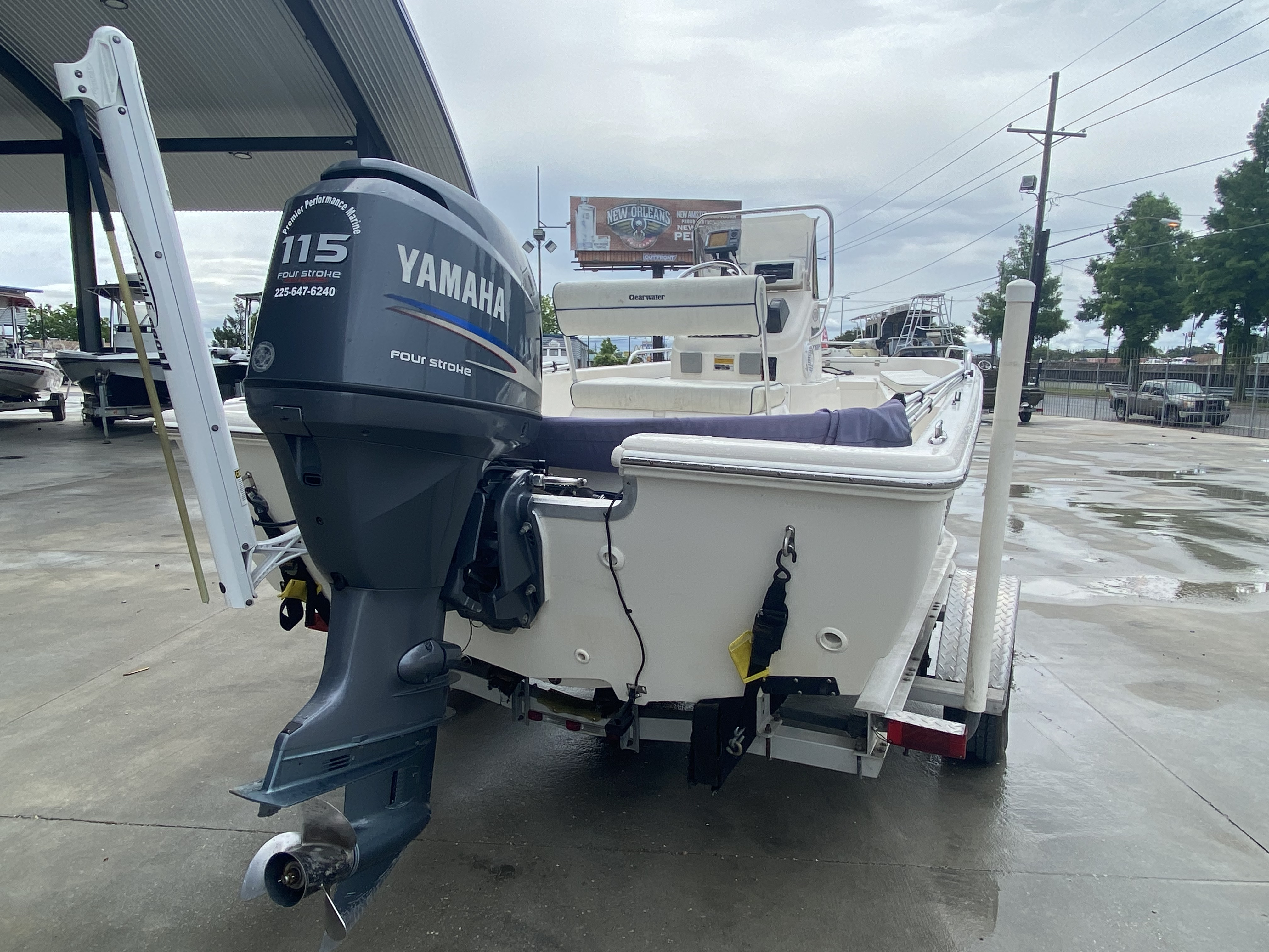 2007 Clearwater boat for sale, model of the boat is 1900 & Image # 9 of 13
