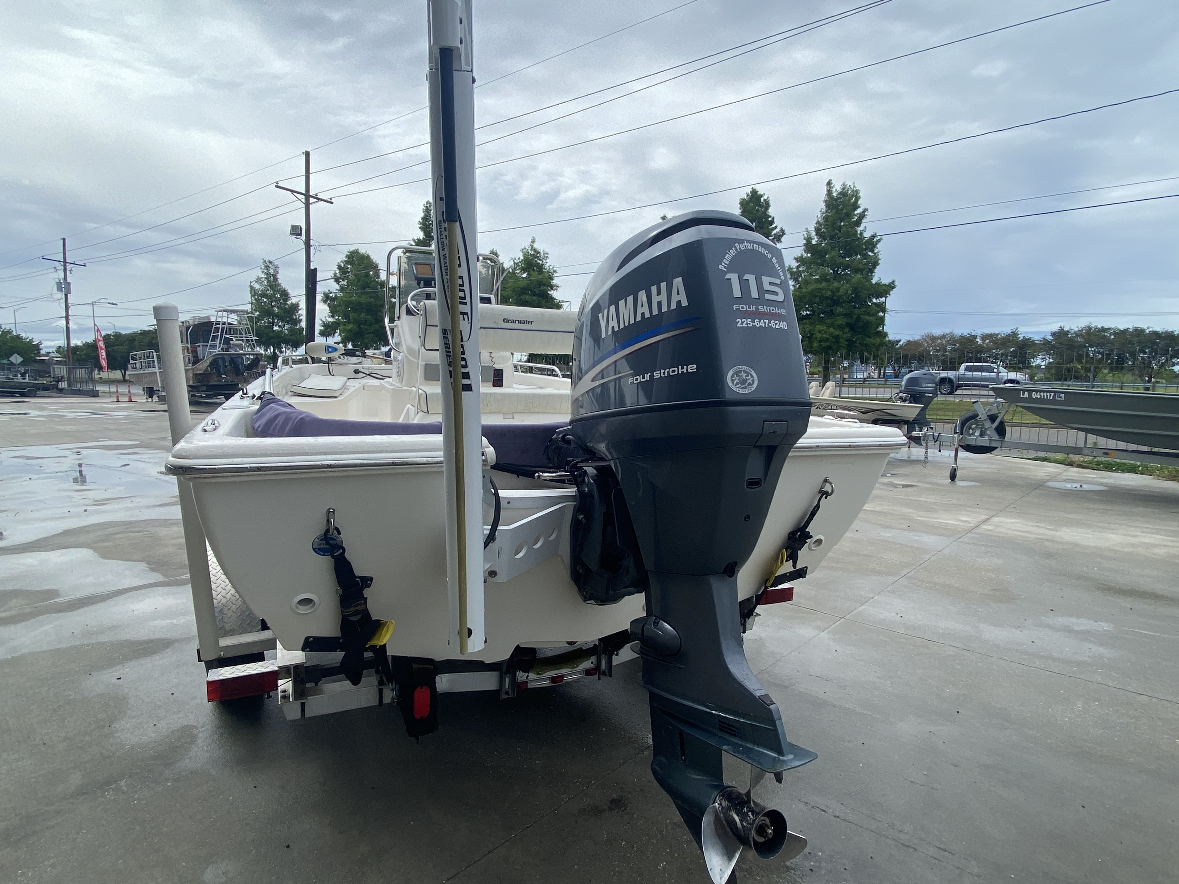 2007 Clearwater boat for sale, model of the boat is 1900 & Image # 10 of 13