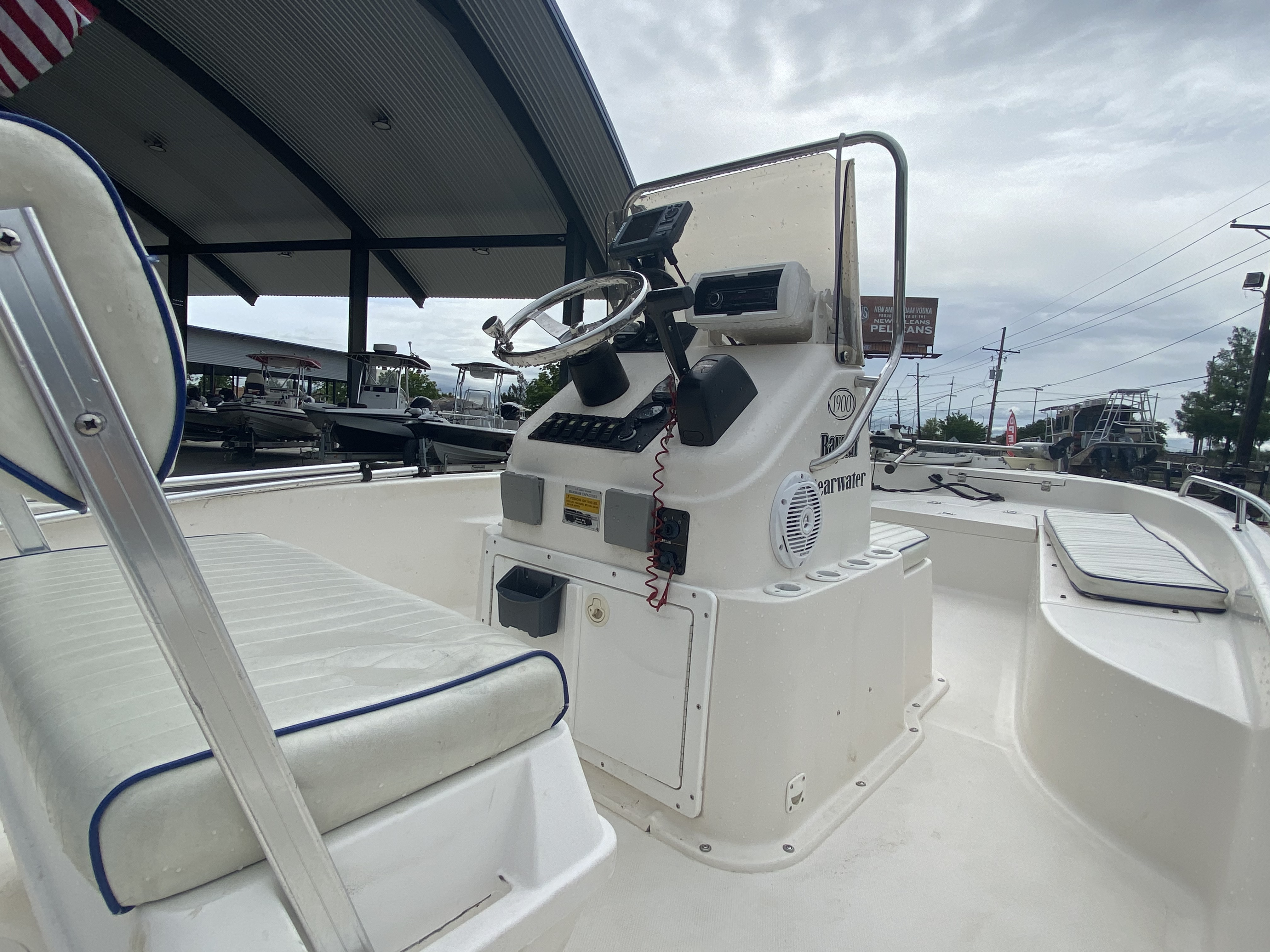 2007 Clearwater boat for sale, model of the boat is 1900 & Image # 12 of 13