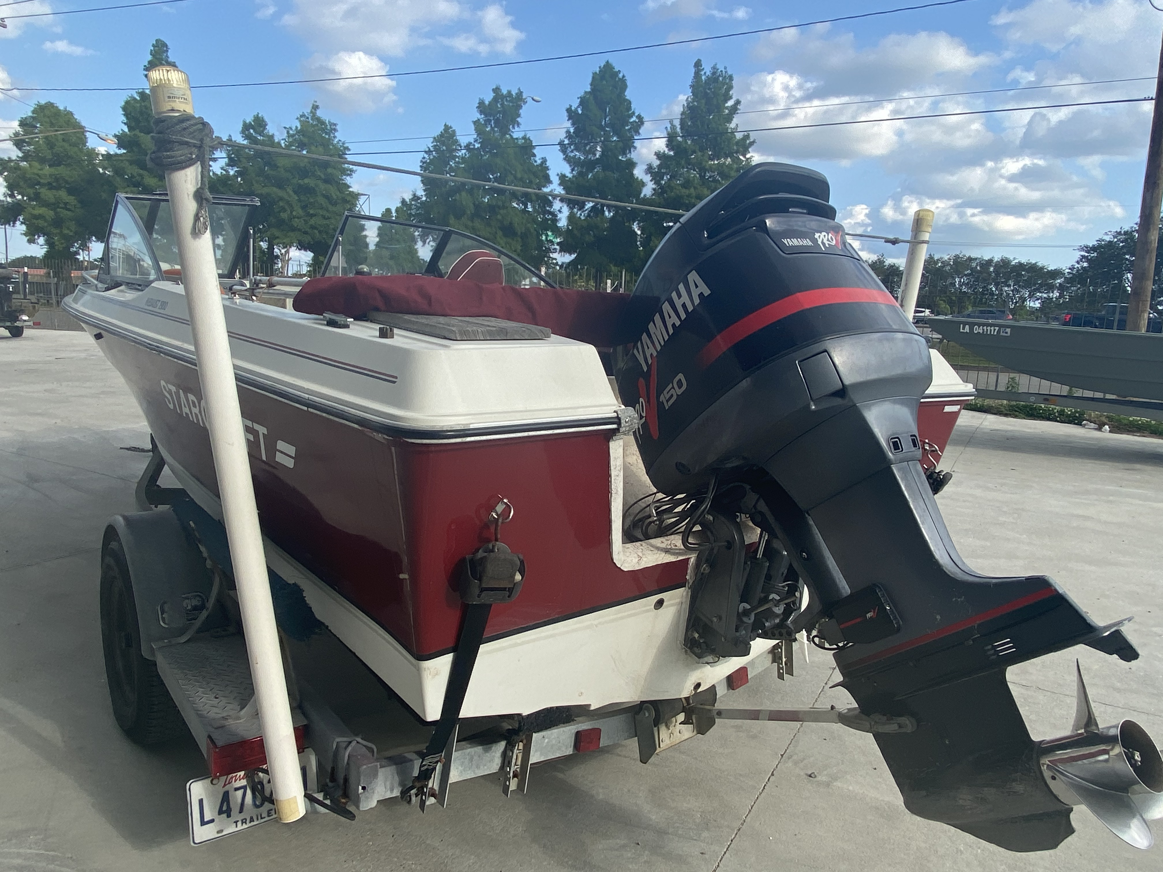 1989 Starcraft boat for sale, model of the boat is 19 & Image # 5 of 9