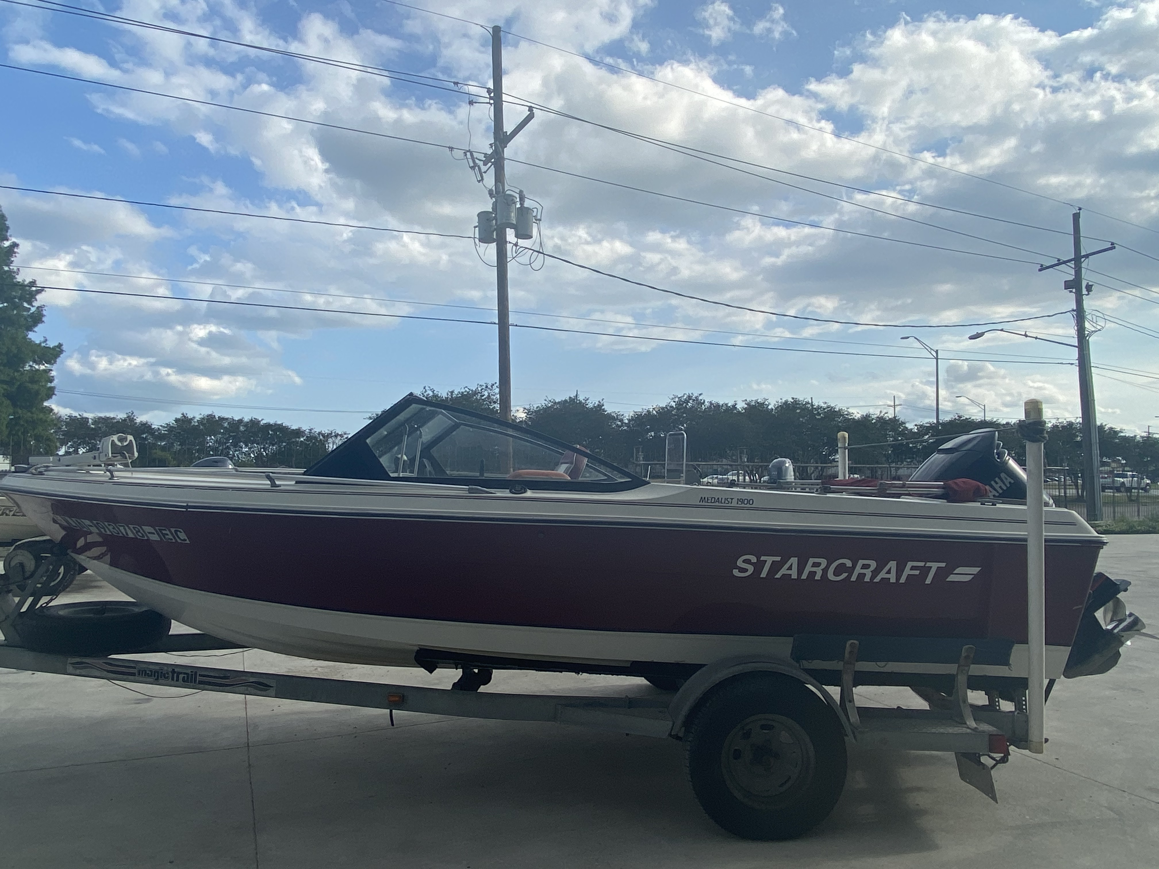 1989 Starcraft boat for sale, model of the boat is 19 & Image # 6 of 9