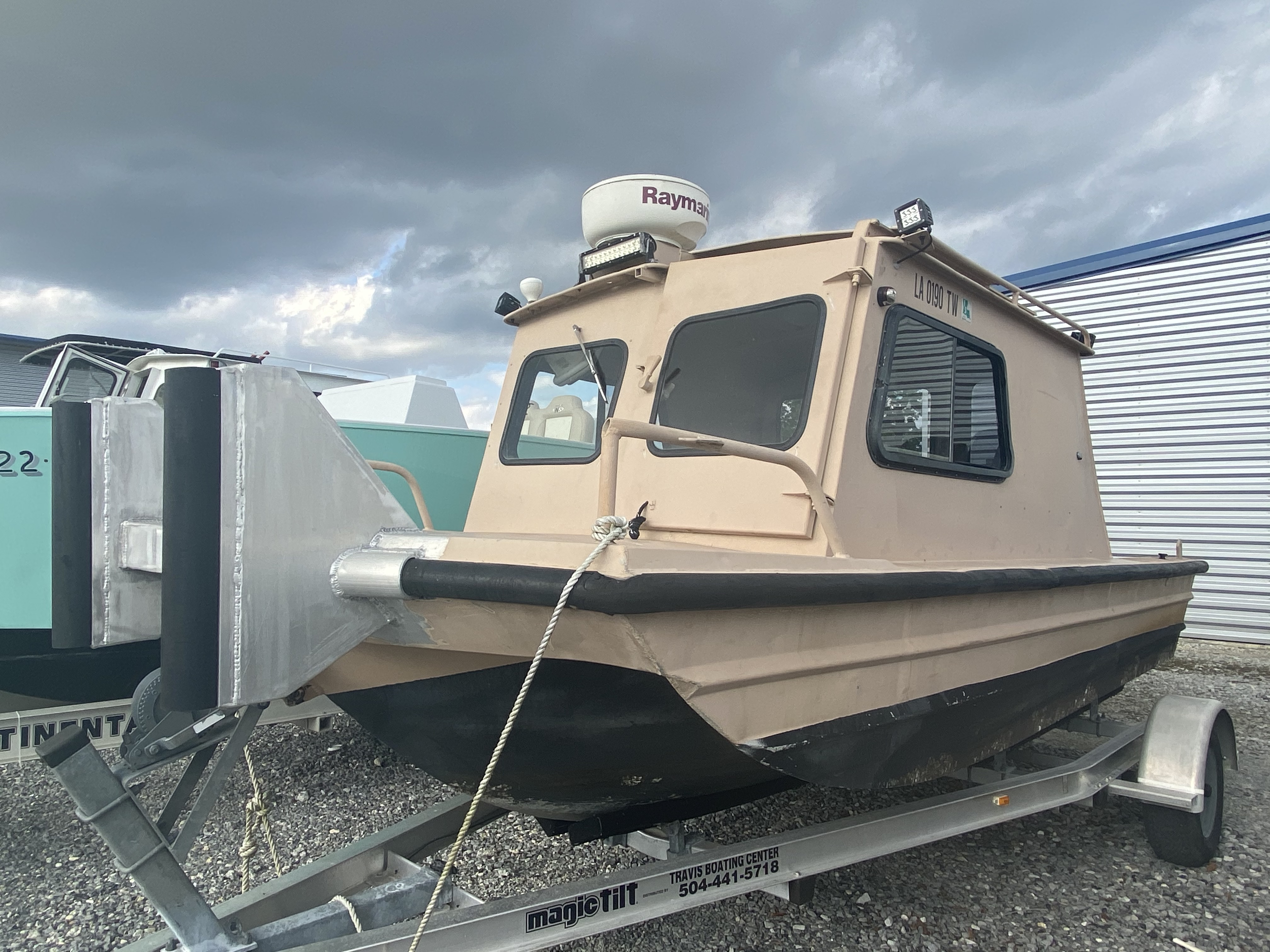 1975 Monark boat for sale, model of the boat is 17 & Image # 1 of 3