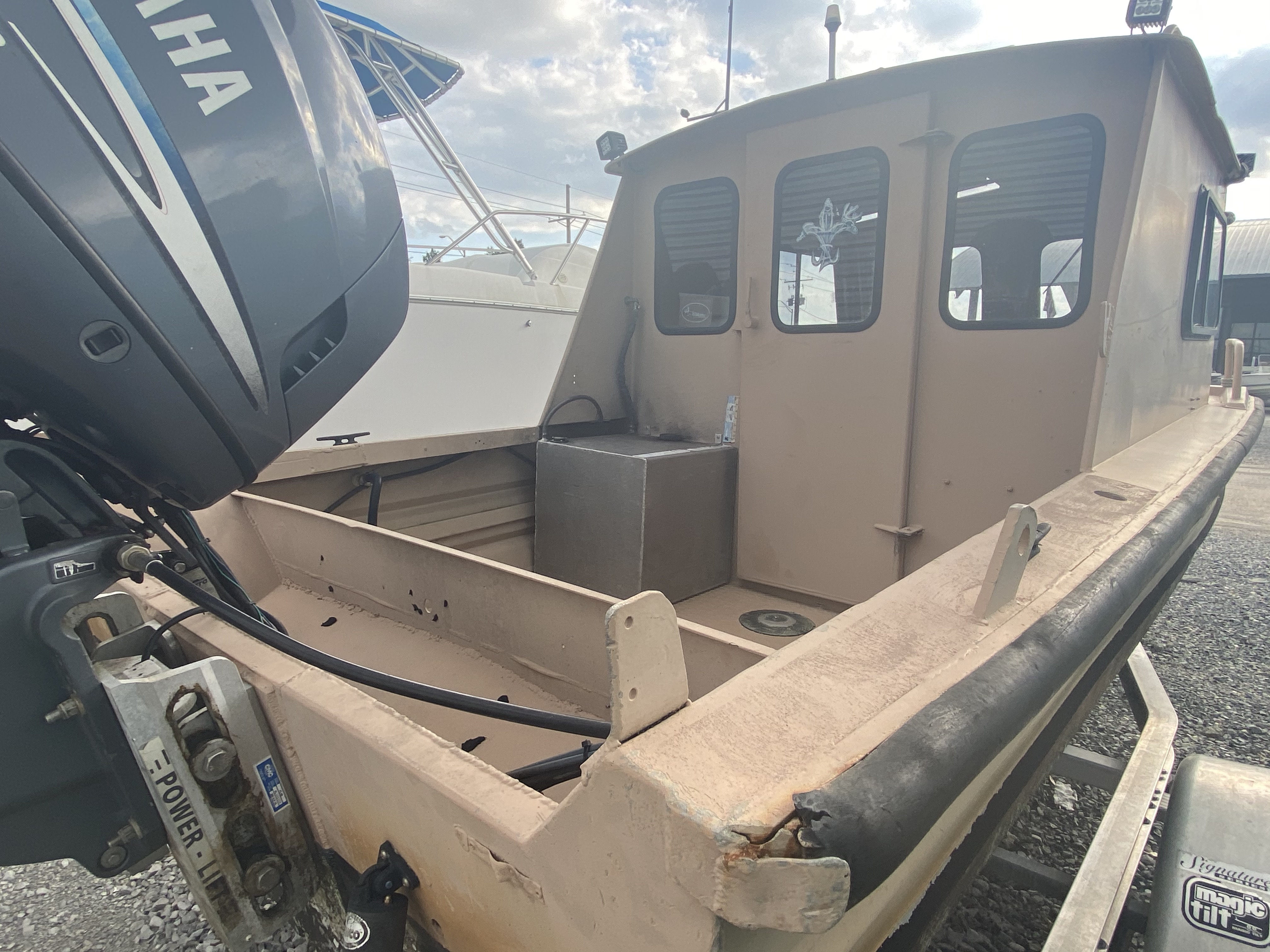 1975 Monark boat for sale, model of the boat is 17 & Image # 3 of 3