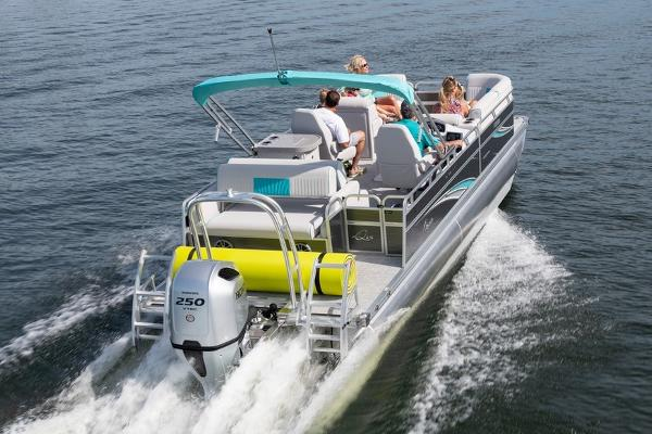2021 Qwest boat for sale, model of the boat is LS 824 Splash Pad RW & Image # 6 of 11