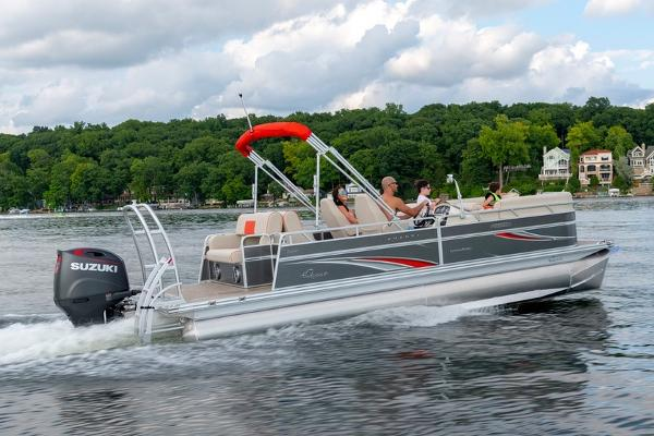 2021 Qwest boat for sale, model of the boat is LS 824 Splash Pad RW & Image # 4 of 11