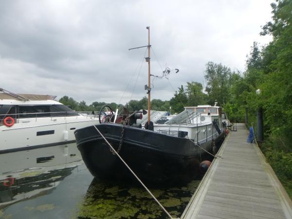 Barge Haganaar Tjalkship