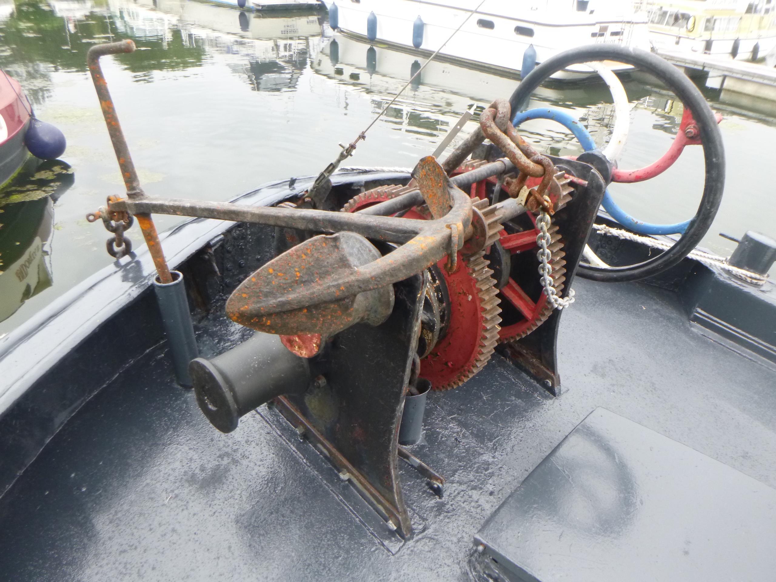 1910 Barge Haganaar Tjalkship