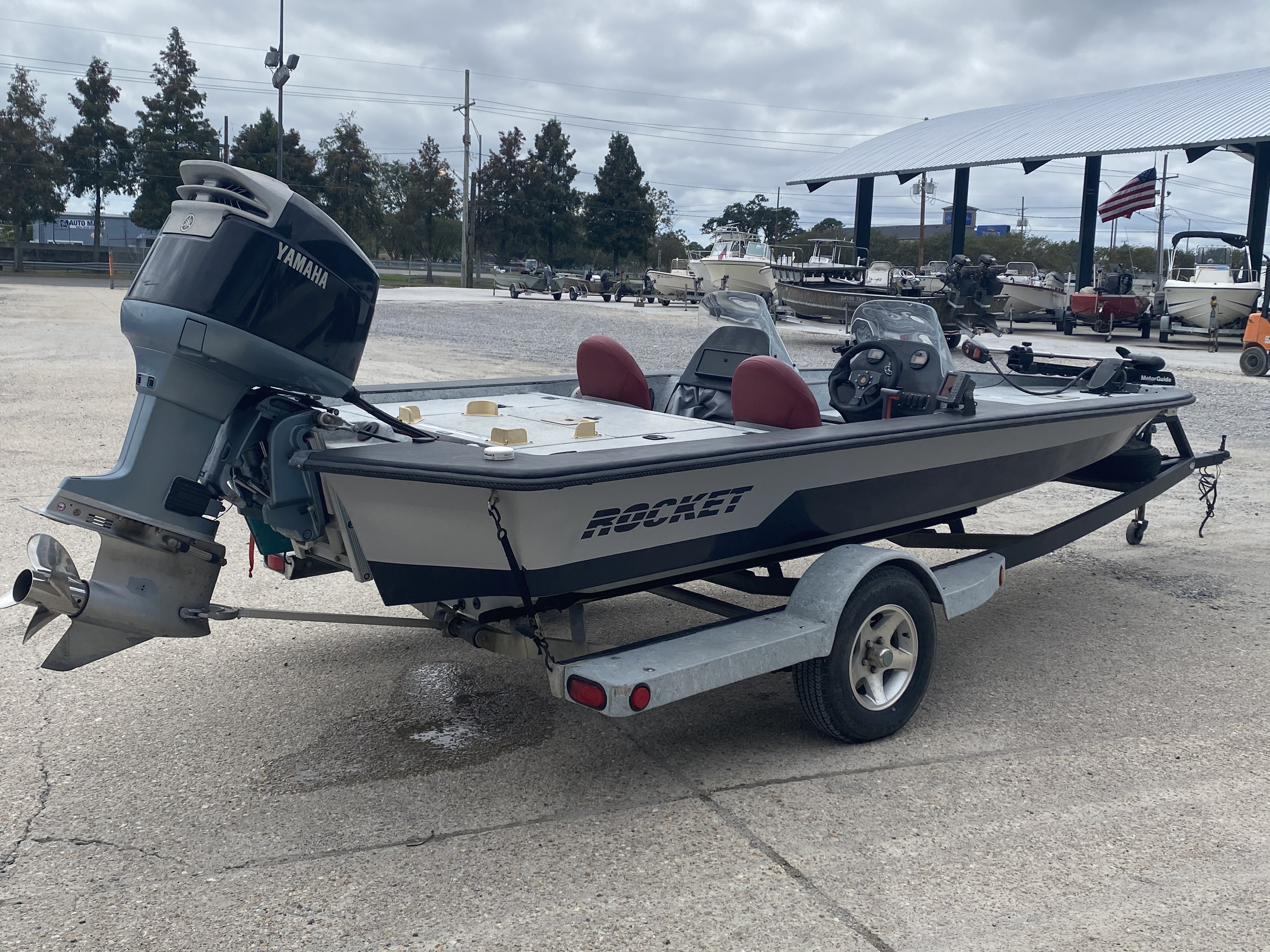 1993 ROCKET boat for sale, model of the boat is 20 & Image # 2 of 13