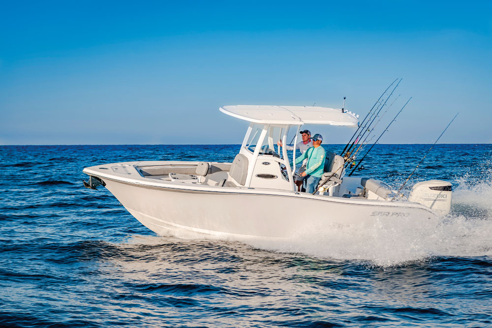 2021 Sea Pro boat for sale, model of the boat is 239 DLX Deep-V Center Console & Image # 1 of 19
