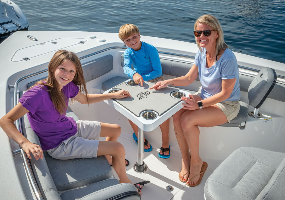 2021 Sea Pro boat for sale, model of the boat is 239 DLX Deep-V Center Console & Image # 15 of 19