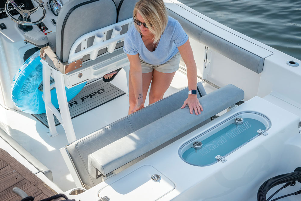 2021 Sea Pro boat for sale, model of the boat is 239 DLX Deep-V Center Console & Image # 4 of 19
