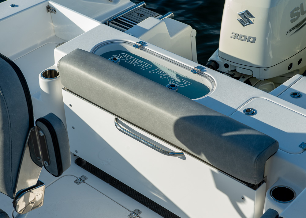 2021 Sea Pro boat for sale, model of the boat is 239 DLX Deep-V Center Console & Image # 8 of 19