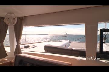 Lagoon 450 F video