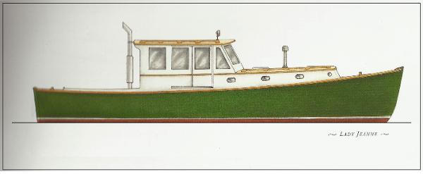 42' Down East Lobster Yacht
