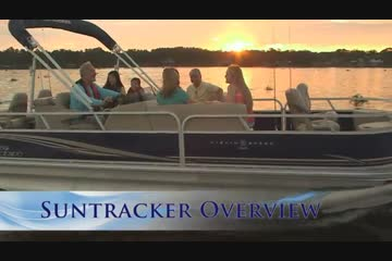 Sun Tracker Fishin' Barge 24 DLX video