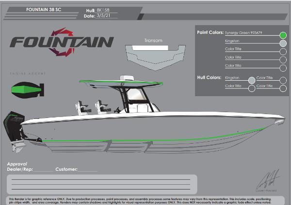 2022 Fountain 38 Center Console thumbnail