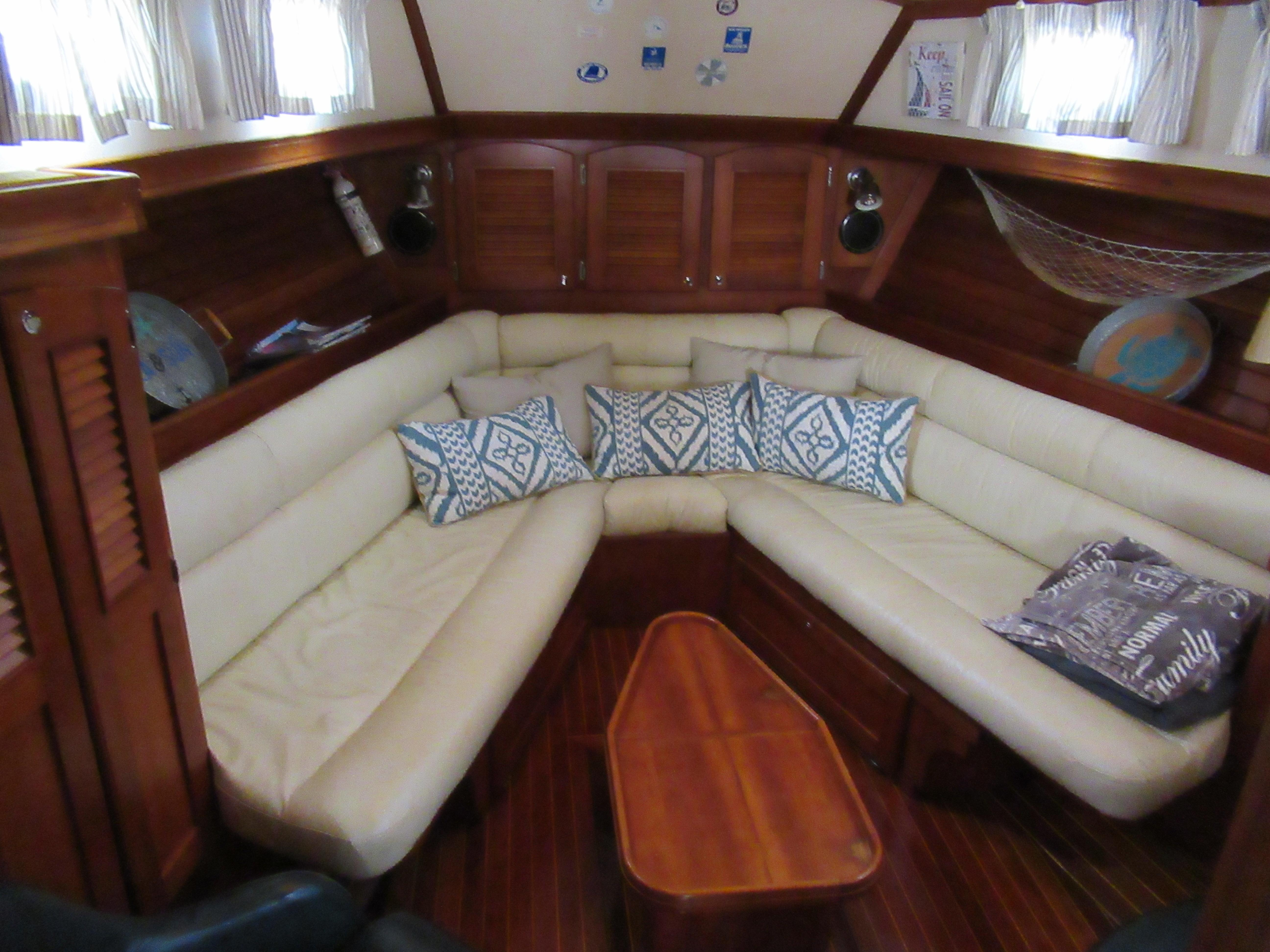 Forward Cabin set as Saloon