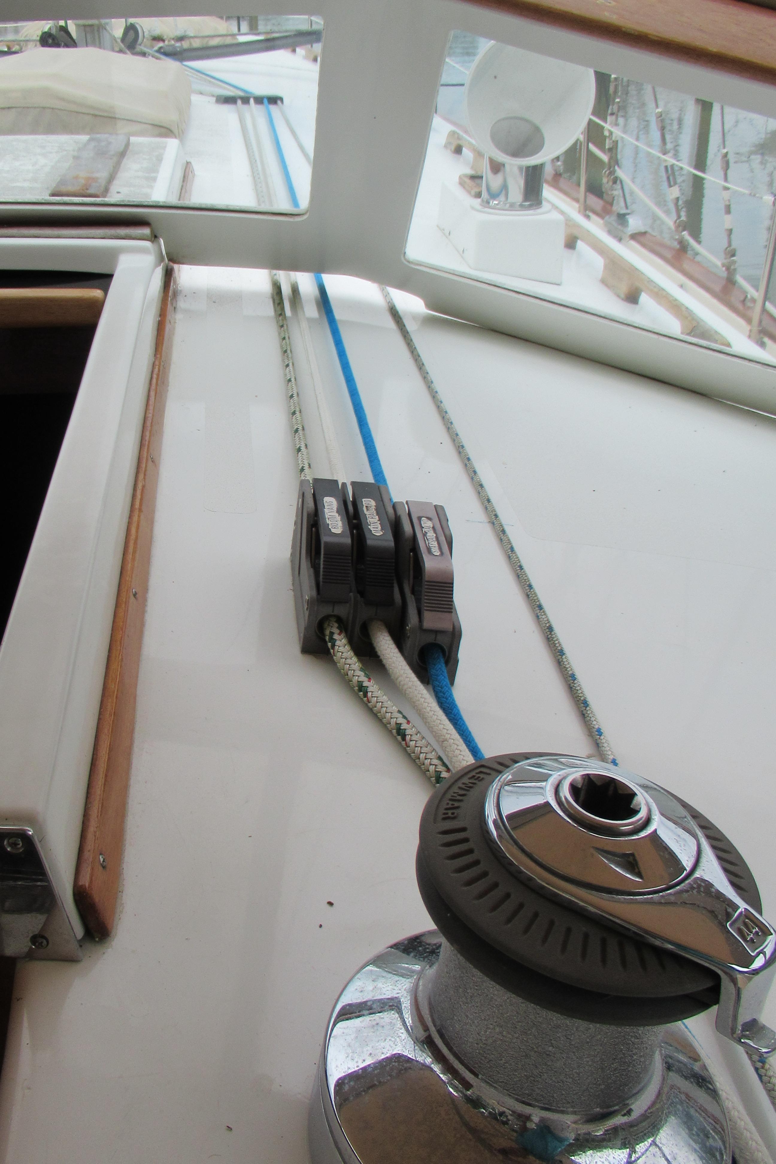 Starboard Side Running Rigging
