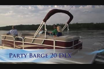 Sun Tracker Party Barge 20 DLX video