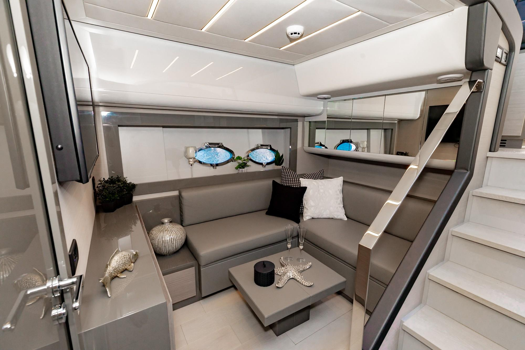 2019 Pershing 62 #TB28JR inventory image at Sun Country Yachts in Newport Beach