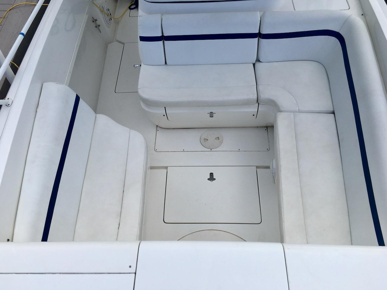 Seating Forward of the Helm