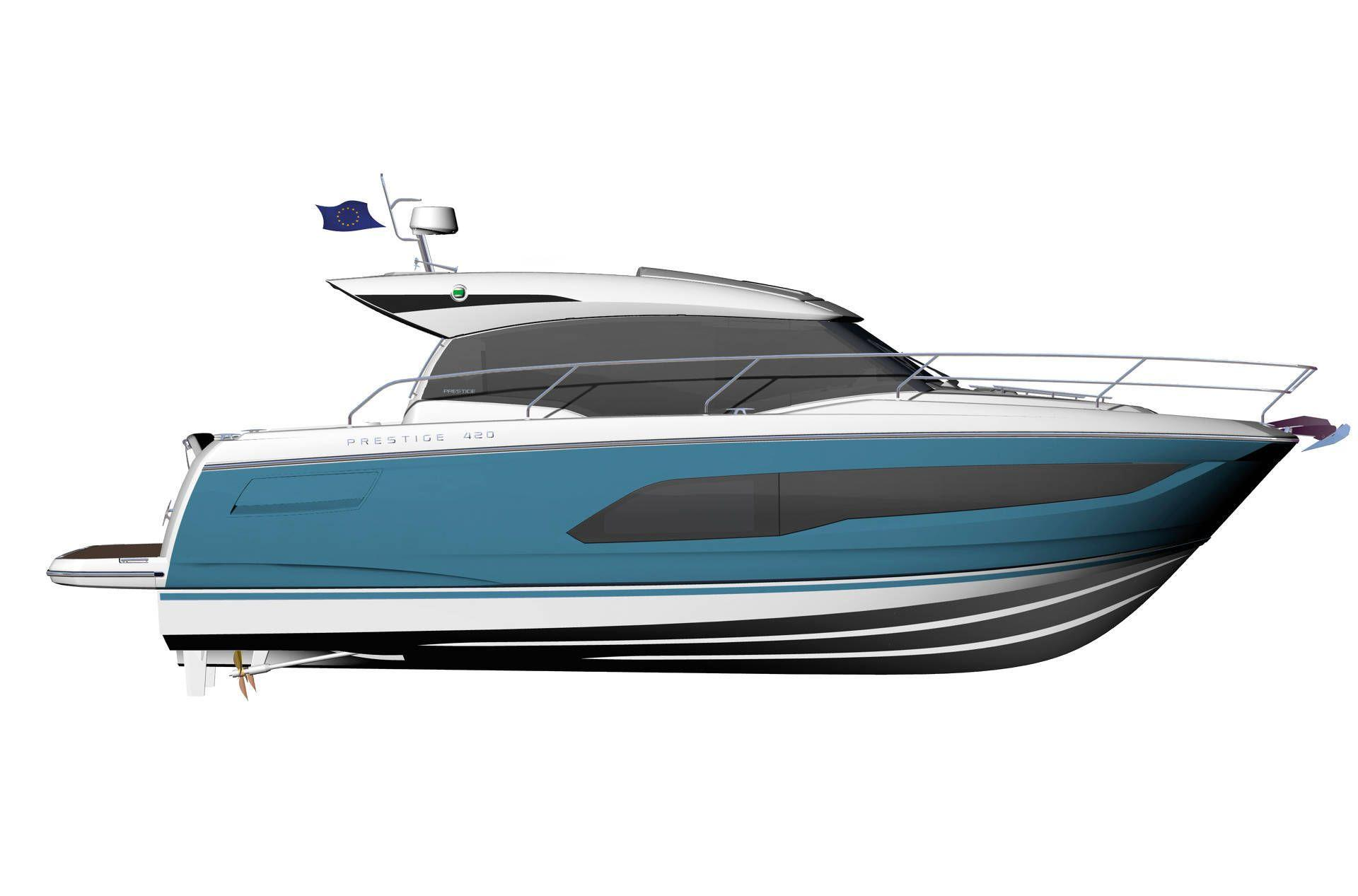 2021 Prestige 420 S #75561 inventory image at Sun Country Yachts in San Diego