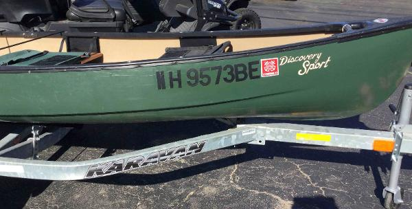 1998 Old Town boat for sale, model of the boat is Discovery Sport & Image # 2 of 5