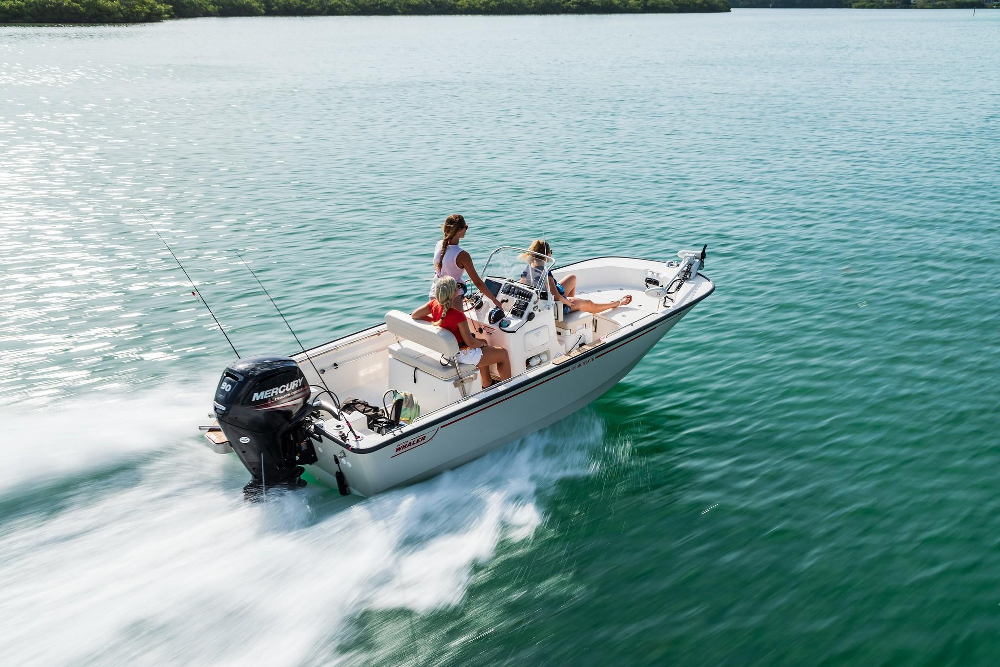2021 Boston Whaler 170 Montauk #BW1572A inventory image at Sun Country Coastal in Newport Beach