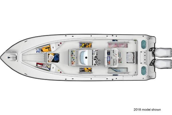 2019 Mako boat for sale, model of the boat is 334 CC Family Edition & Image # 32 of 33
