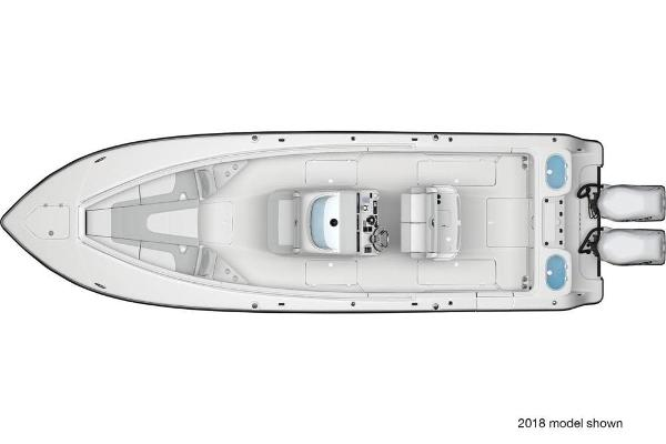2019 Mako boat for sale, model of the boat is 334 CC Family Edition & Image # 33 of 33