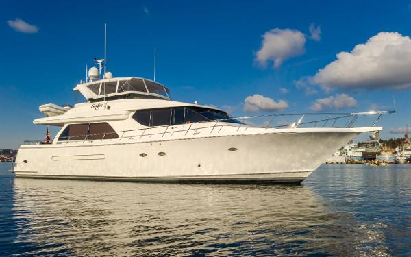 2002 WEST BAY 68 Pilothouse Motoryacht