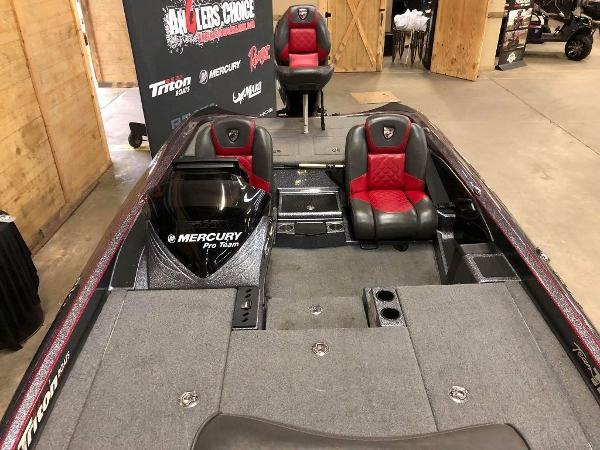 2018 Triton boat for sale, model of the boat is 21 TRX & Image # 5 of 10