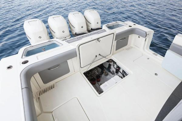 2022 Mako boat for sale, model of the boat is 414 CC & Image # 35 of 129
