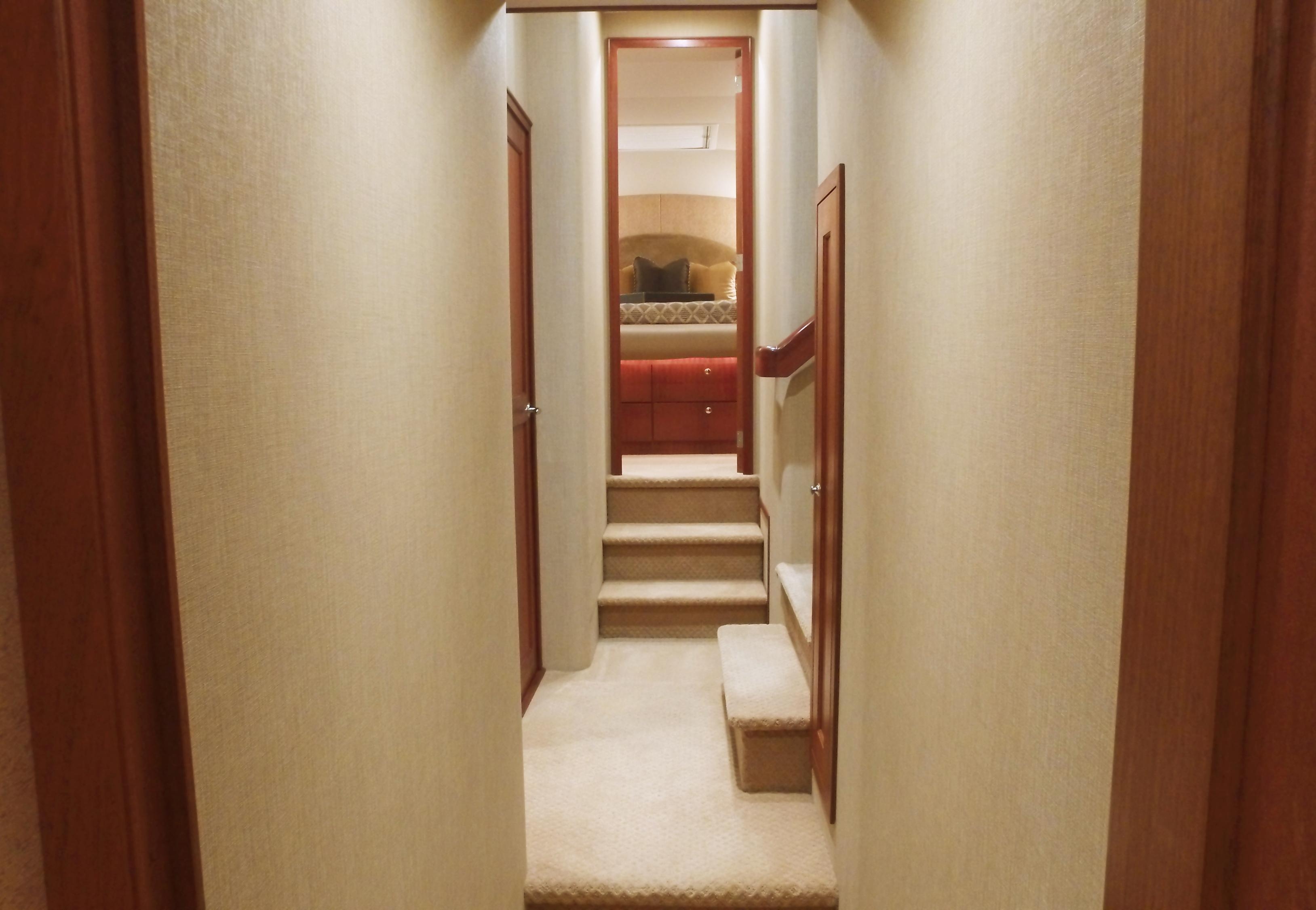 Hallway to VIP Stateroom