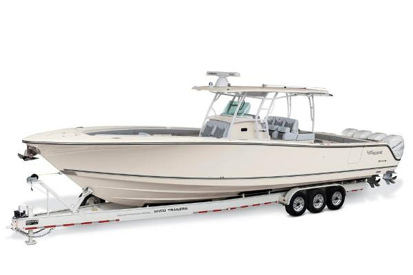 2019 Mako boat for sale, model of the boat is 414 CC Family Edition & Image # 104 of 108