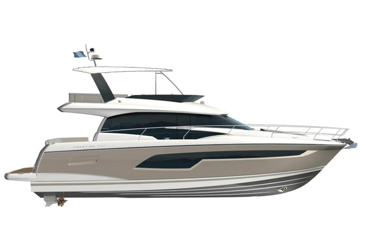 2021 Prestige 520 Fly #75563 inventory image at Sun Country Coastal in San Diego
