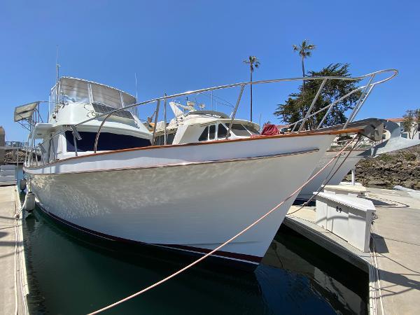 1981 CHB 45 Sedan Trawler Europa