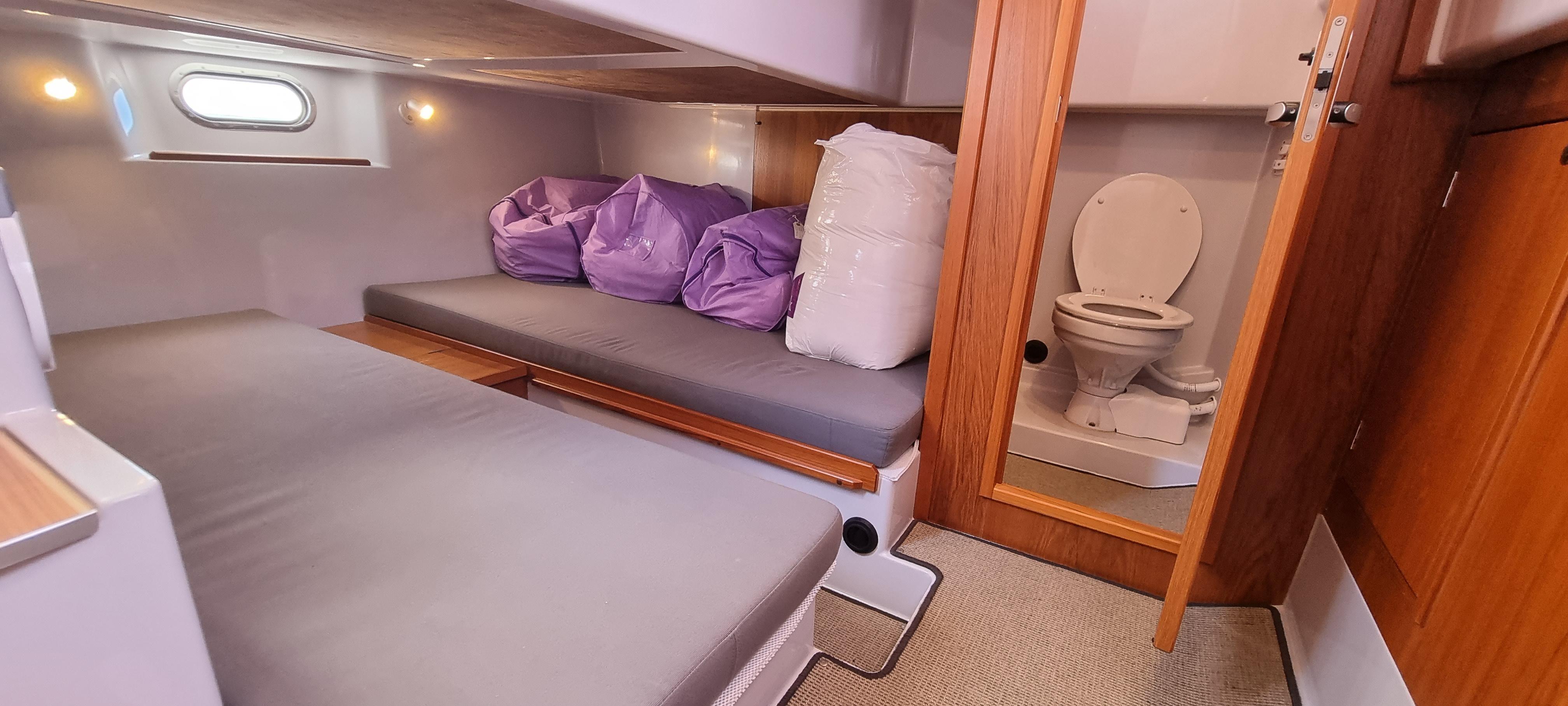 2013 Sargo 36 aft cabin (triple)