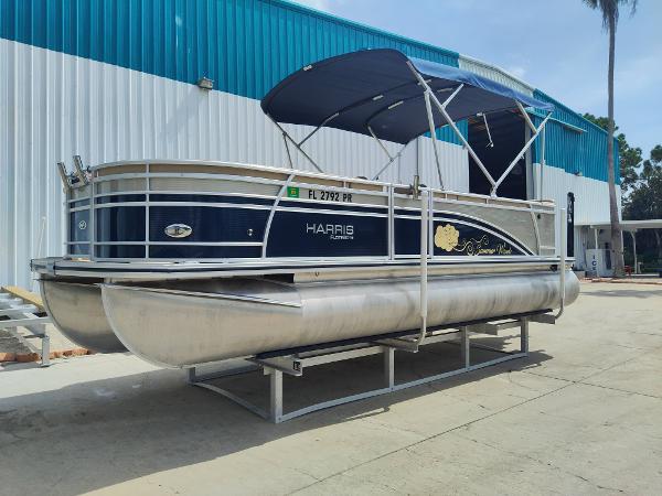 2014 Harris FloteBote Sunliner 220