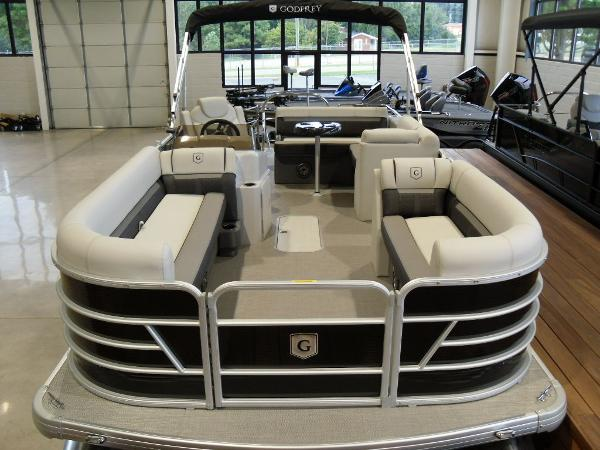 2021 Godfrey Pontoon boat for sale, model of the boat is SW 2286 SFL Sport Tube 27 in. & Image # 4 of 24