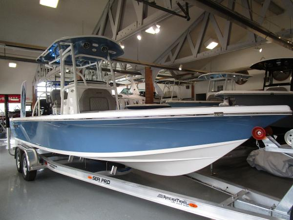 2021 Sea Pro boat for sale, model of the boat is 248 DLX BAY & Image # 1 of 34