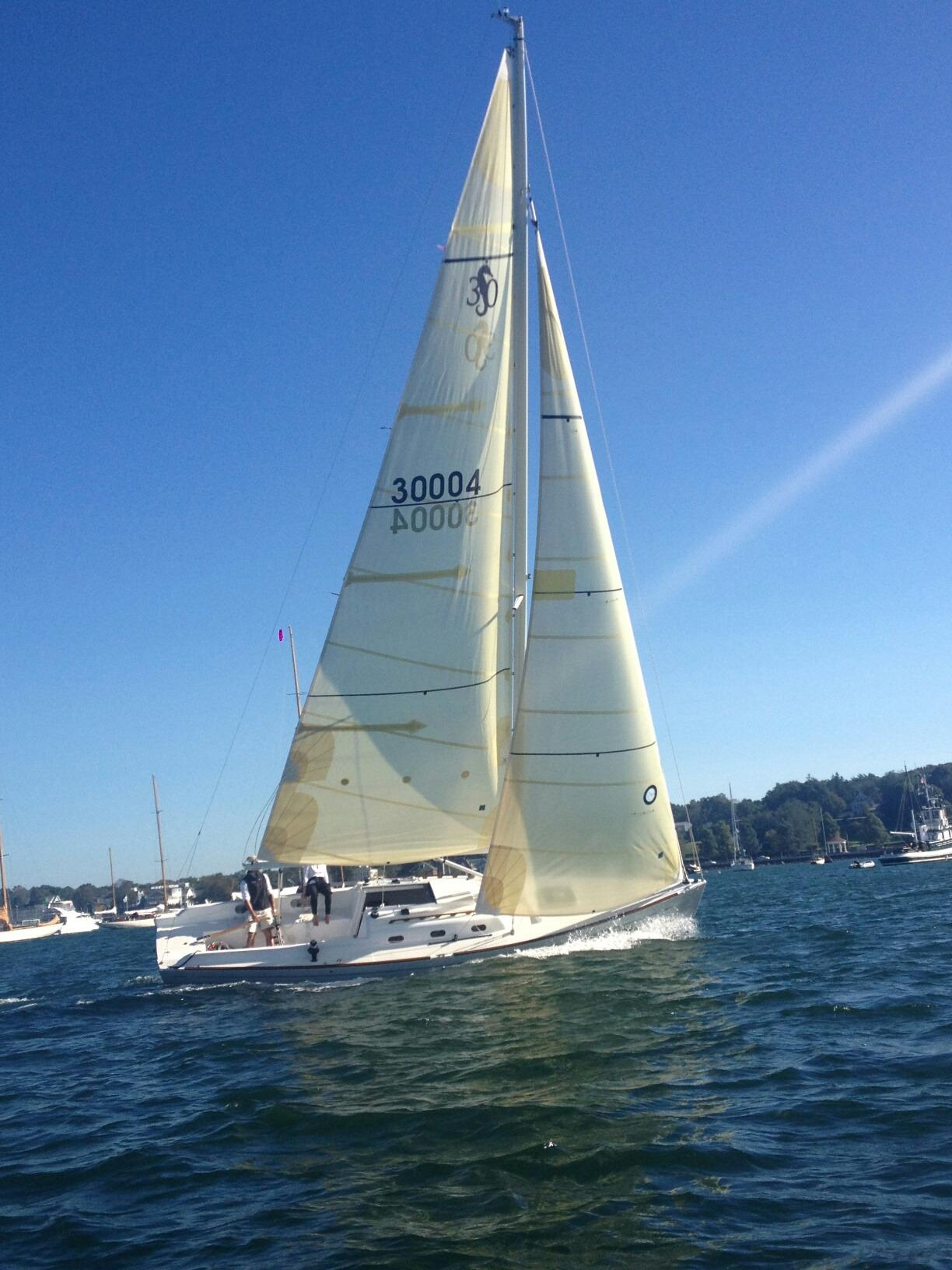 SS30 Under Sail in Newport