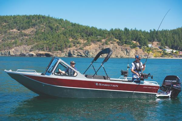 2021 Spartan boat for sale, model of the boat is 200 Astoria & Image # 9 of 36