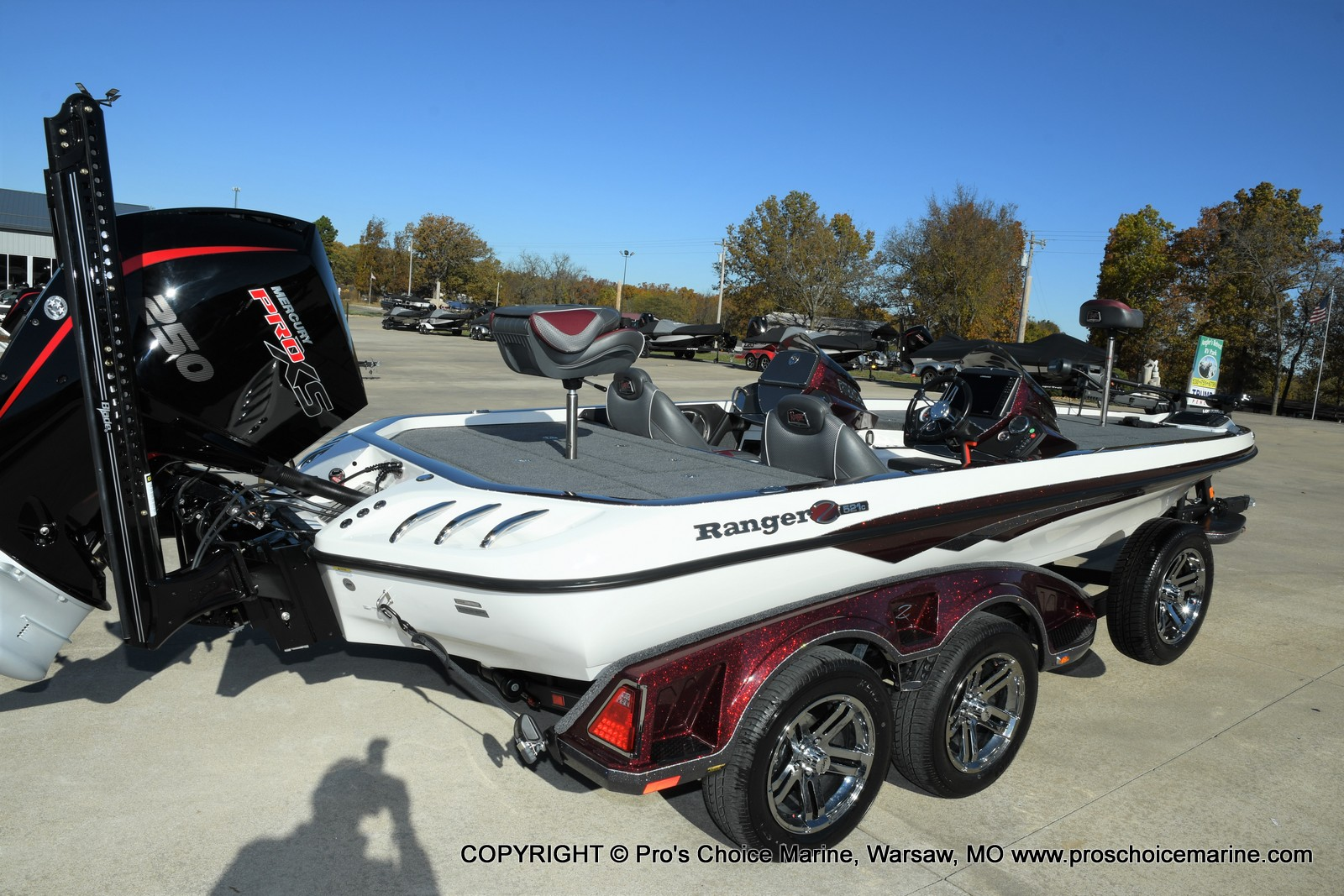 2021 Ranger Boats boat for sale, model of the boat is Z521C Ranger Cup Equipped DUAL CONSOLE & Image # 43 of 50