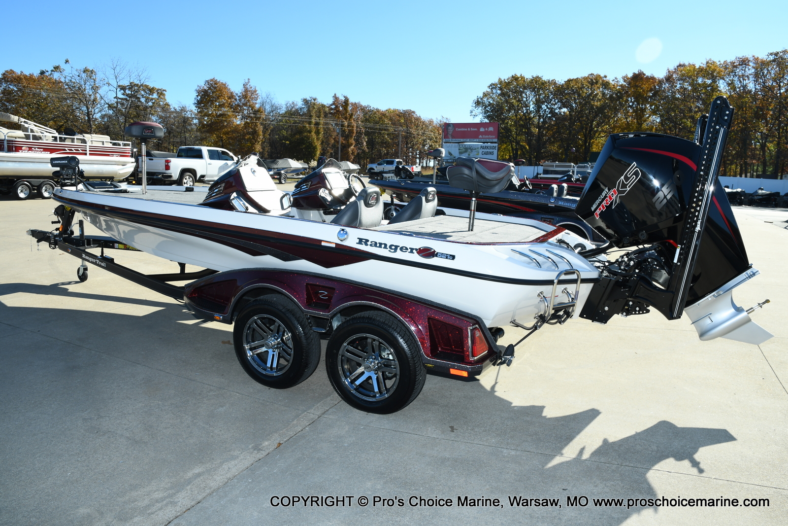 2021 Ranger Boats boat for sale, model of the boat is Z521C Ranger Cup Equipped DUAL CONSOLE & Image # 45 of 50