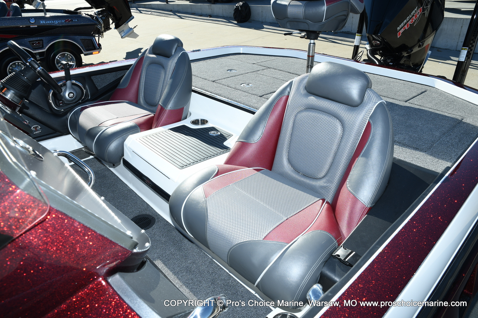 2021 Ranger Boats boat for sale, model of the boat is Z521C Ranger Cup Equipped DUAL CONSOLE & Image # 48 of 50