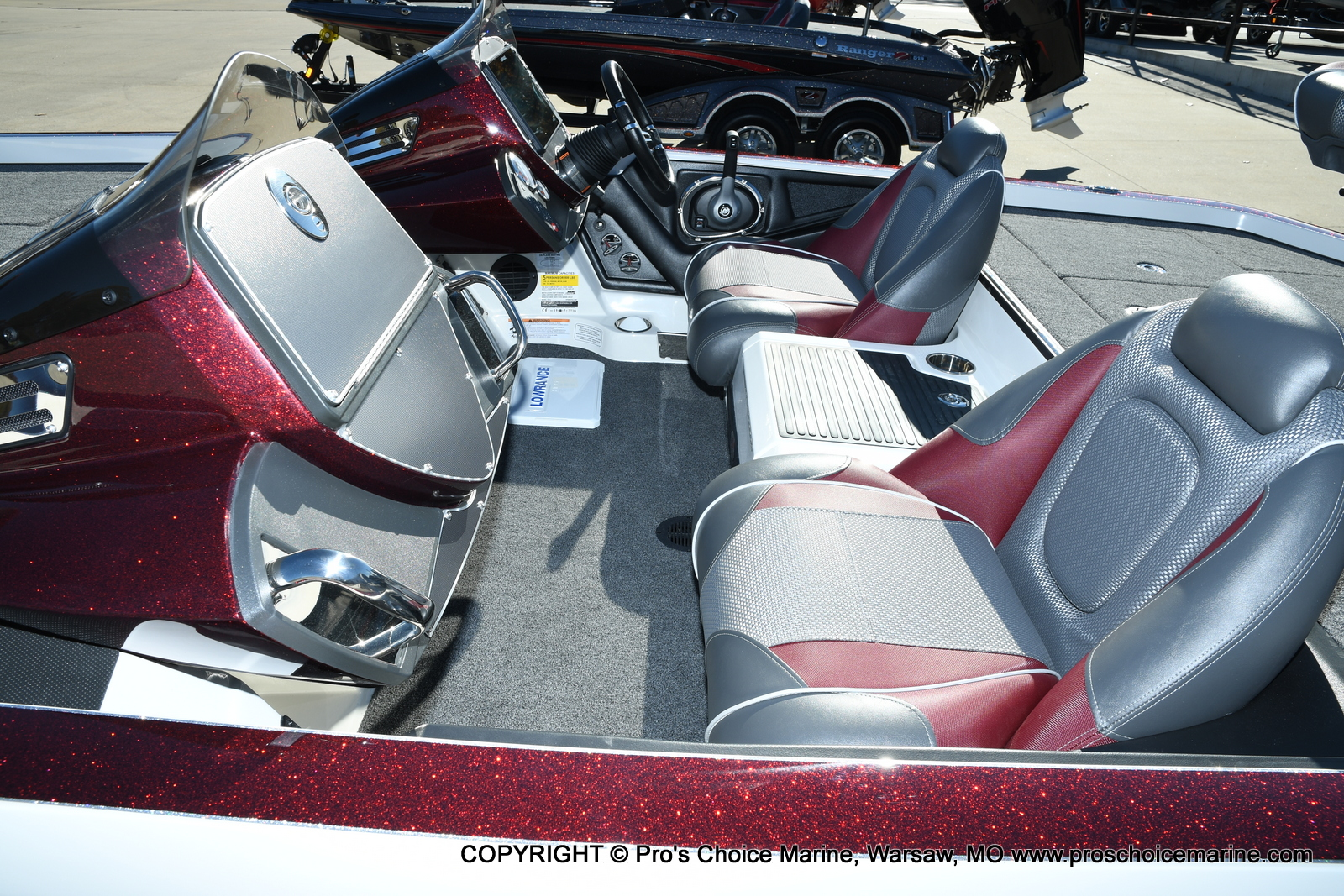 2021 Ranger Boats boat for sale, model of the boat is Z521C Ranger Cup Equipped DUAL CONSOLE & Image # 5 of 50