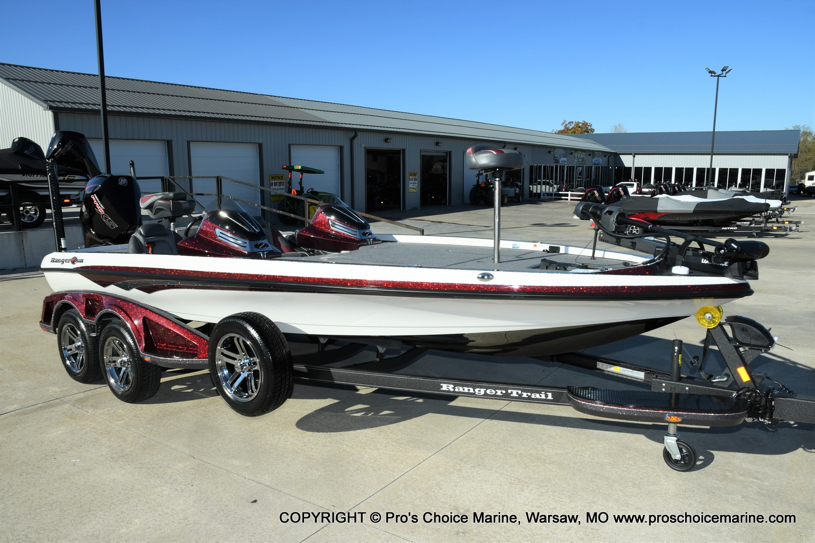 2021 Ranger Boats boat for sale, model of the boat is Z521C Ranger Cup Equipped DUAL CONSOLE & Image # 17 of 50